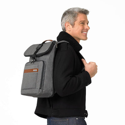 Briggs & Riley Medium Foldover Backpack