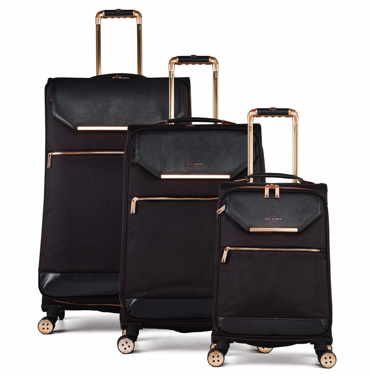 1b25ea417299 Ted Baker Albany Soft Side 4-Wheel 80cm Large Suitcase