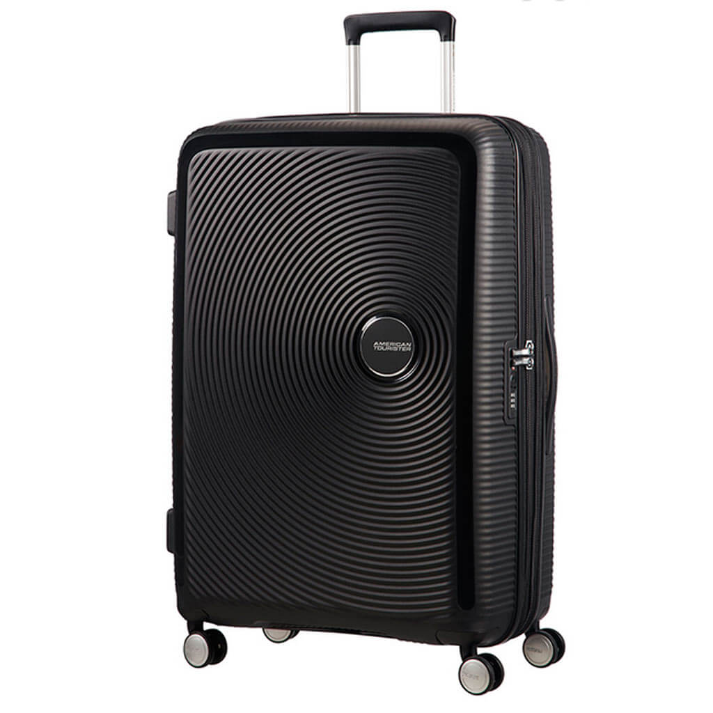 American Tourister Soundbox 77cm 4-Wheel Expandable Suitcase