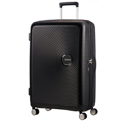American Tourister Soundbox 77cm Large 4-Wheel Expandable Suitcase