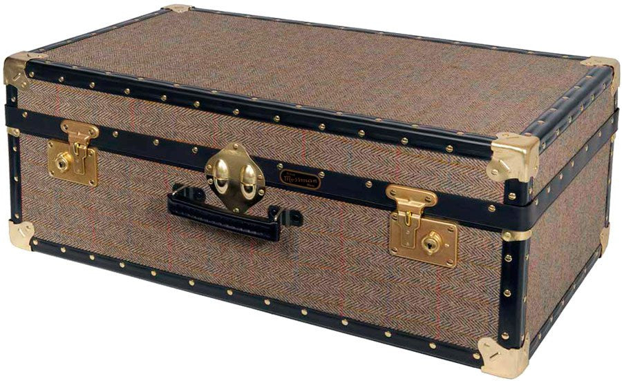 Harris Tweed Attache Trunk 30 x 17 x 11
