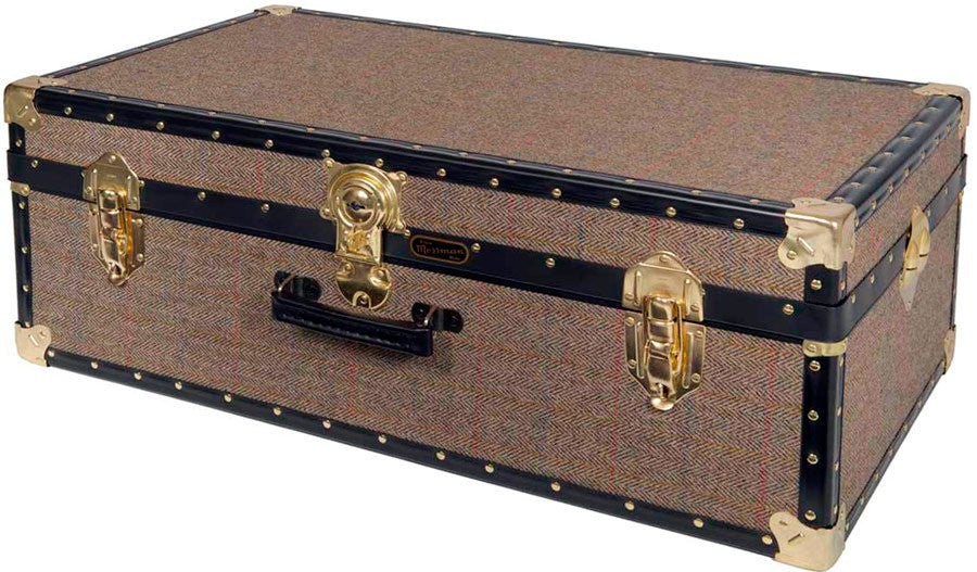Harris Tweed Hand Trunk 33 x 19 x 12