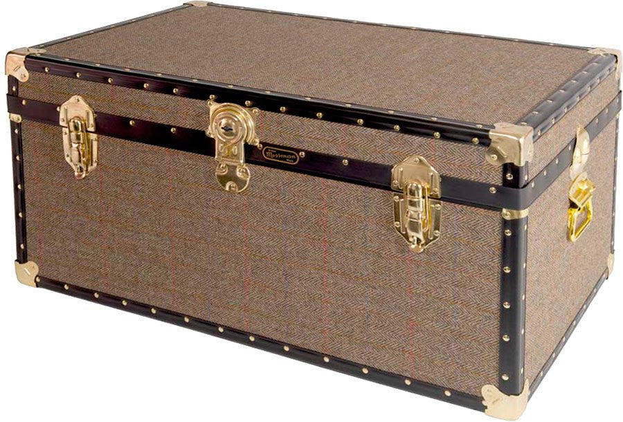 Harris Tweed 33 x 20 x 16 Trunk