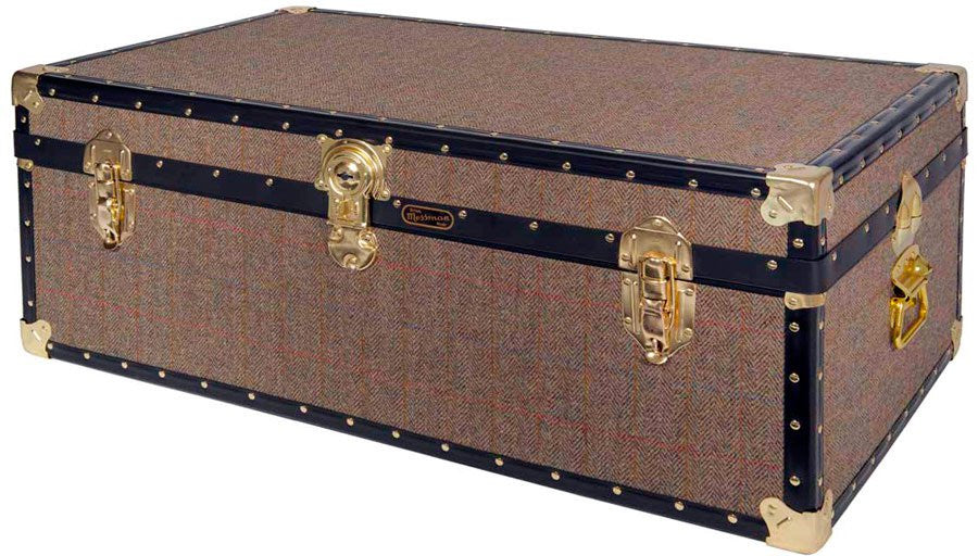 Harris Tweed 36 x 20 x 14 Trunk