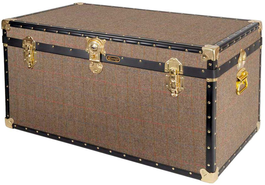 Harris Tweed 36 x 20 x 20 Trunk