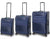 Qubed Gradient 3-Piece Luggage Set