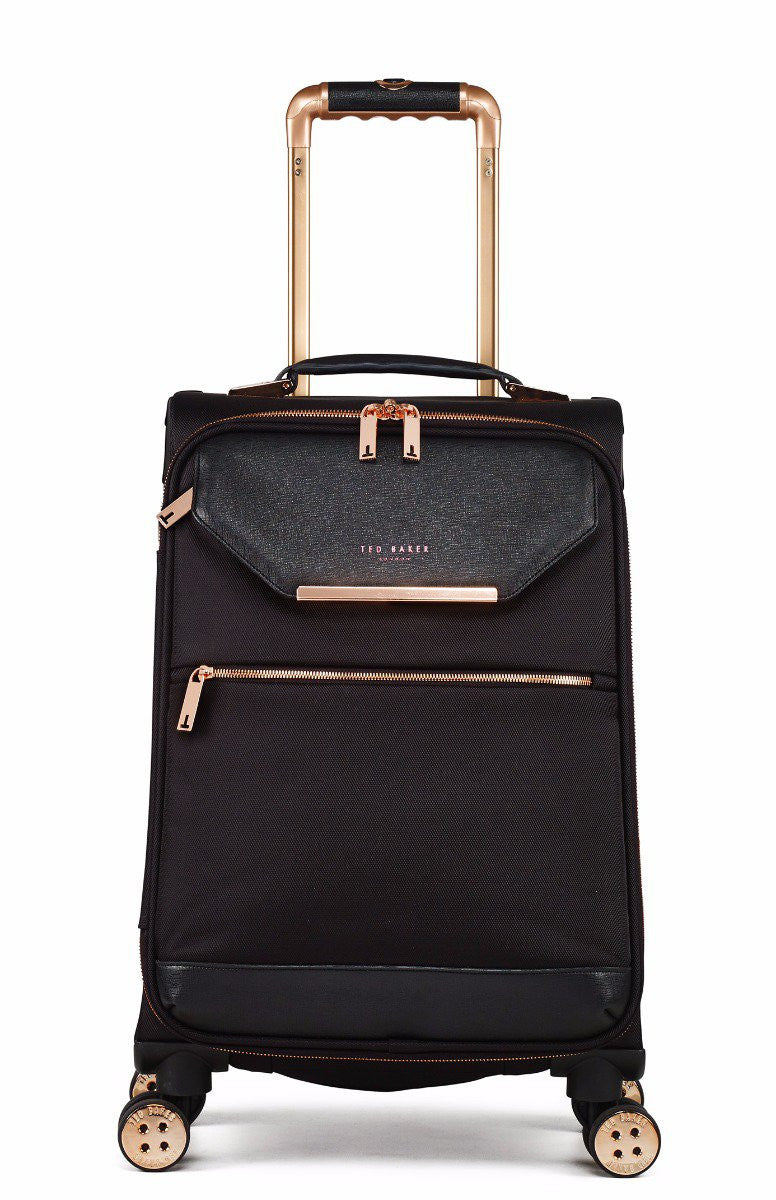 Ted Baker Albany Soft Side 4 Wheel 55cm Cabin Case Go Places
