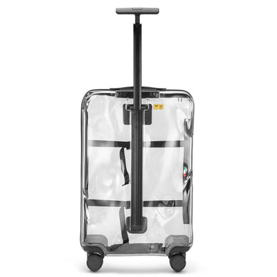 Crash Baggage Share 68cm 4-Wheel Transparent Suitcase