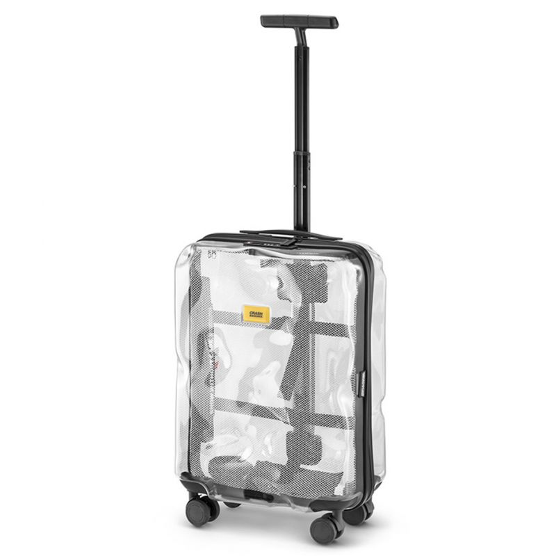 Crash Baggage Share Transparent 55cm 4-Wheel Cabin Case