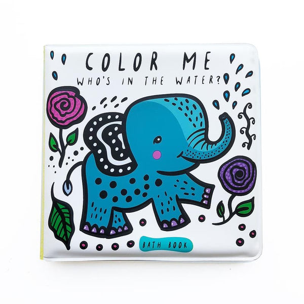 Color Me- Who's in the Water Bath Book Wee Gallery House of Mint