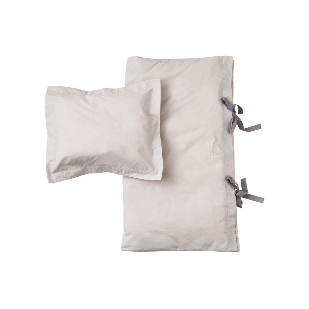 Grey Junior Bedding-Bedding-Garbo & Friends-House Of Mint