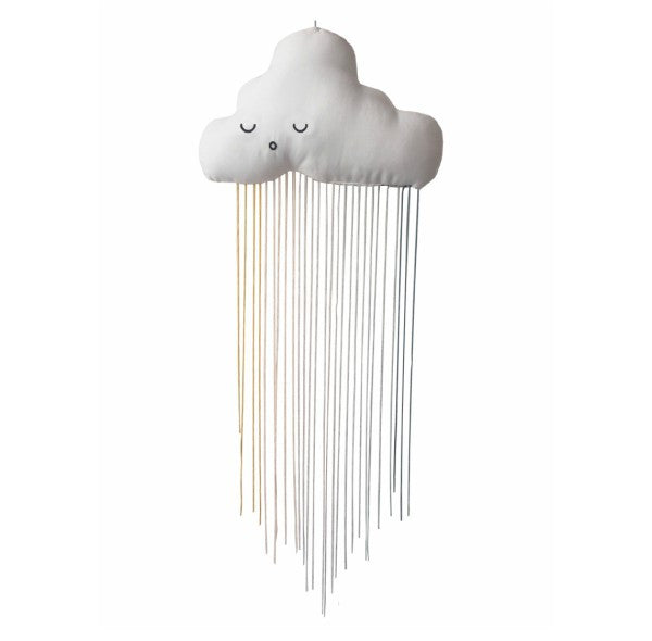 Rainbow Cloud Mobile-Accessories-Nursery-Decoration-Fabelab-House Of Mint