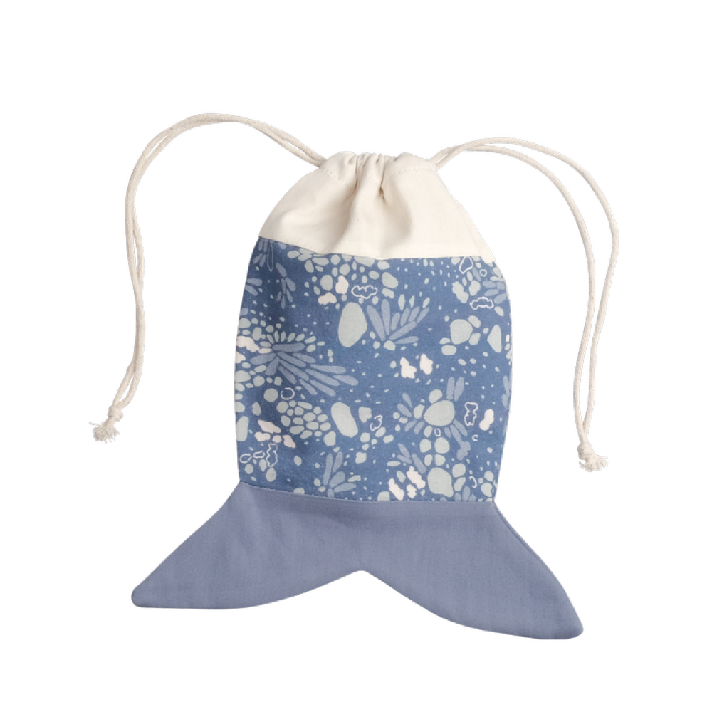 House Of Mint-Accessories-Fabelab-Fish Pouch Marina Blue