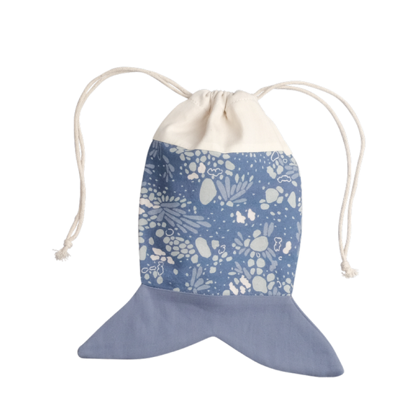 Fish Pouch Marina Blue-Accessories-Fabelab-House Of Mint