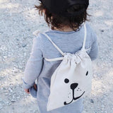Bear Fabric Bag Small-Accessories-Tellkiddo-House Of Mint