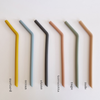 Silicone Bent Straws ( Set of 3) House of Mint