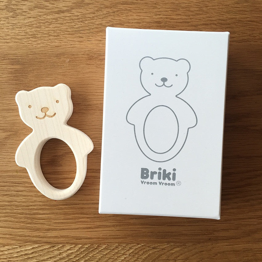 Bear Teether-Teethers-Briki Vroom Vroom-House Of Mint
