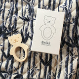 House Of Mint-Teethers-Briki Vroom Vroom-Bear Teether