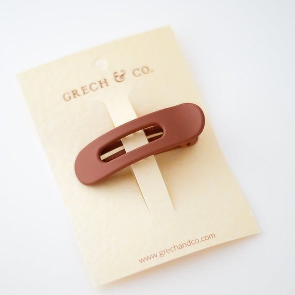 Grip Clip - Rust Girl Hair Accessories House of Mint