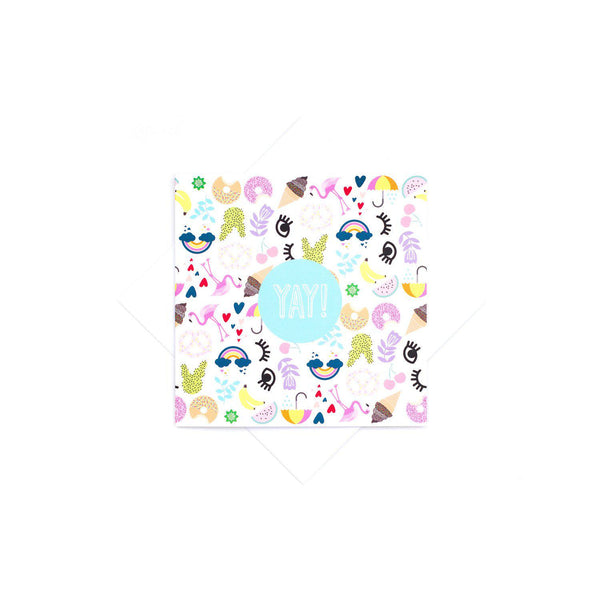 Yay Card-Stationary-Two Little Ducklings-House Of Mint