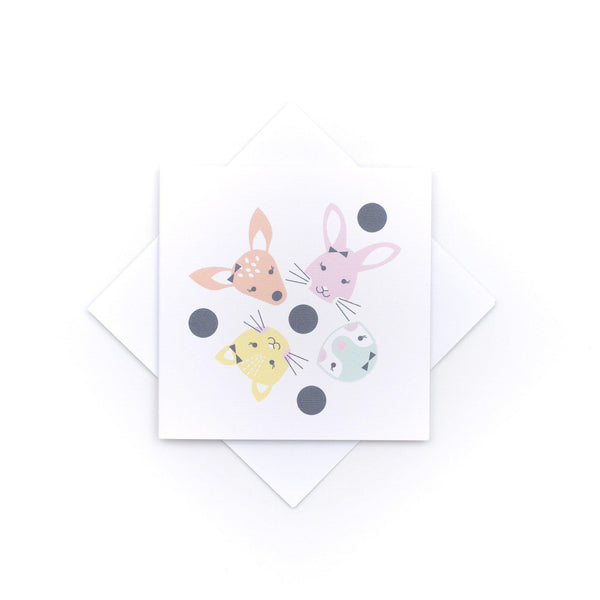 Card Baby Girl- Animals-Stationary-Two Little Ducklings-House Of Mint