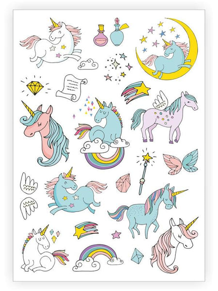 House Of Mint-Tattoos-Ducky Street-Unicorns