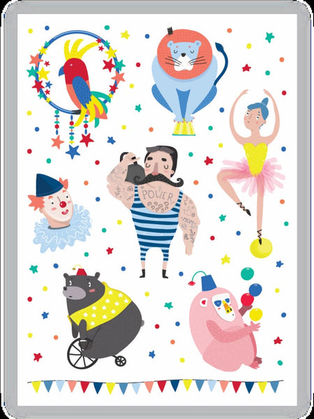 Circus-Temporary-Tattoos-Ducky Street-House Of Mint