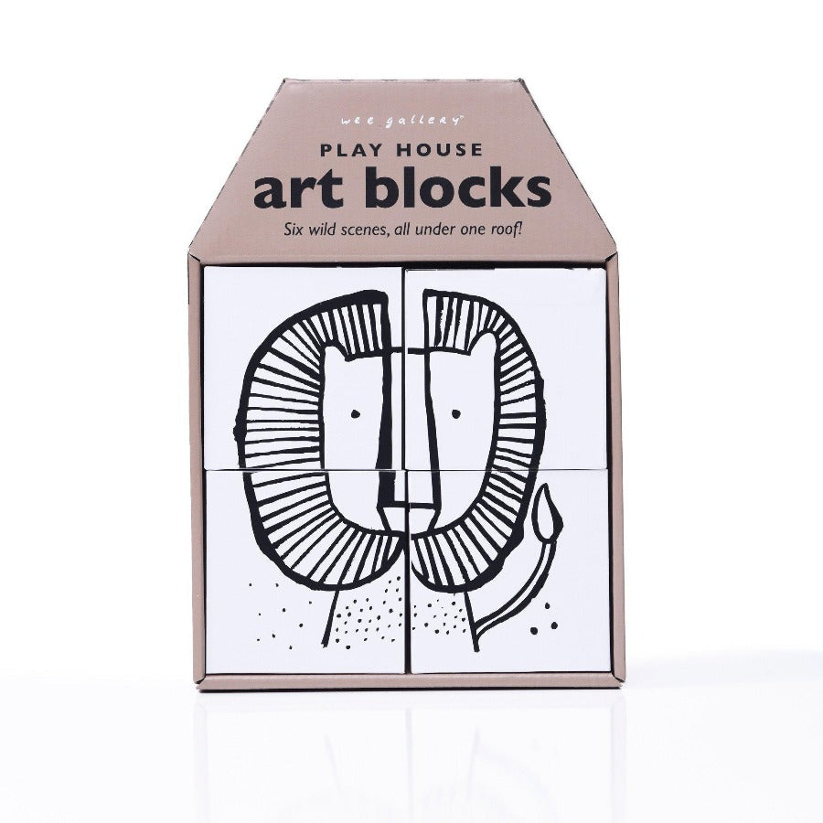 Play House Art Blocks - Wild-Toys-Wee Gallery-House Of Mint