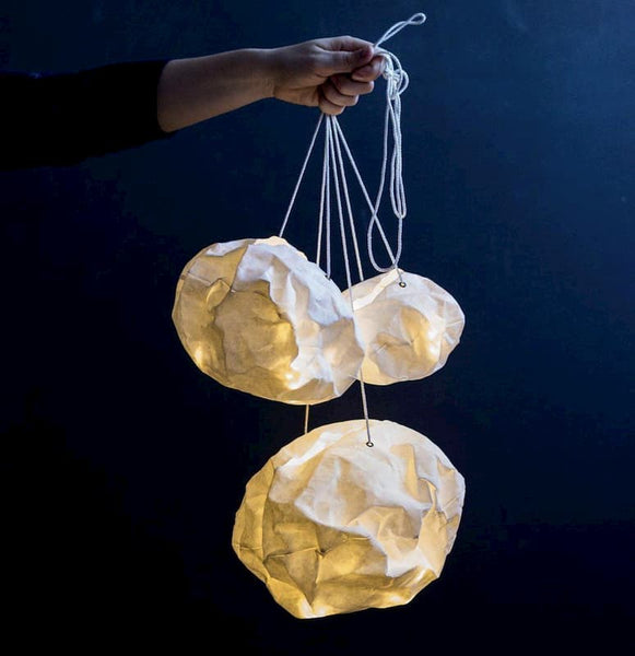 Paper Light Ball Ekaterina Galera Nursery Kids Decoration