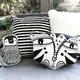 House Of Mint-Accessories-Wee Gallery-Nursery Friends - Penguin Pillow