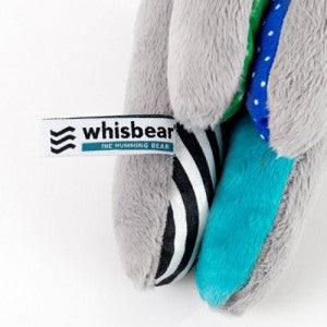 Whisbear®- The Humming Bear (Cry Sensor) Blue-Toys-Whisbear-House Of Mint