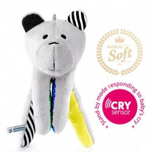 Whisbear®- The Humming Bear (Cry Sensor) Yellow-Toys-Whisbear-House Of Mint