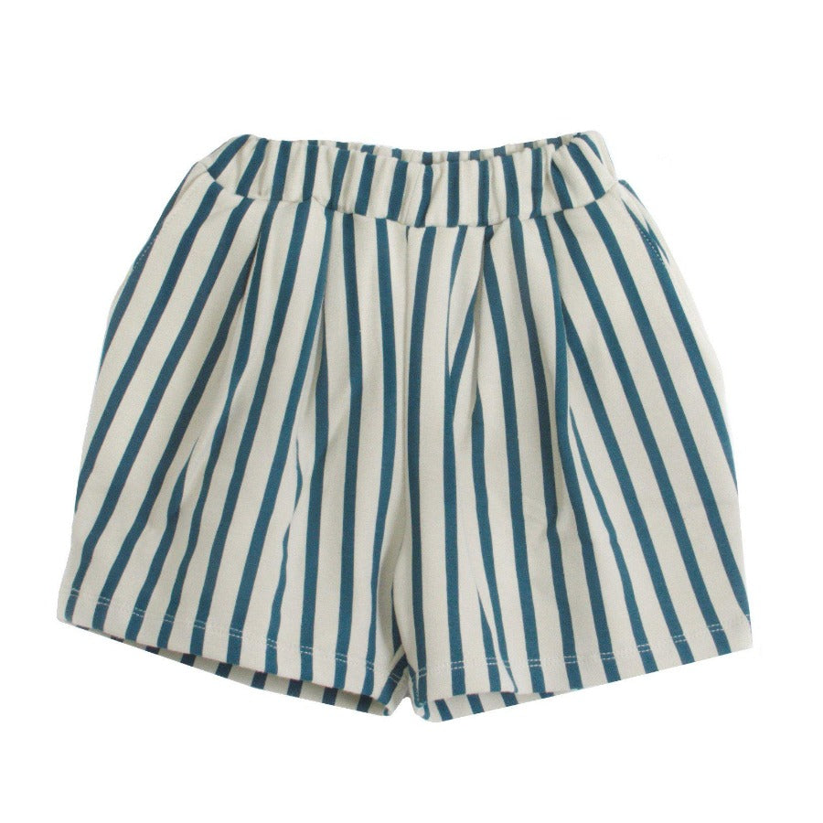 House Of Mint-Bottoms-Piupia-Green Stripes Shorts