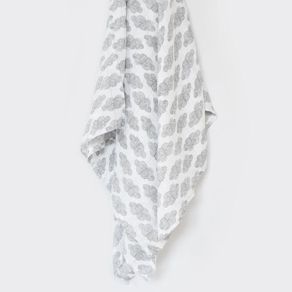 Organic Muslin Swaddle - Clouds