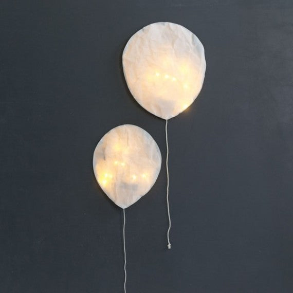 White Balloon Light Ekaterina Galera Nursery Kids Decoration