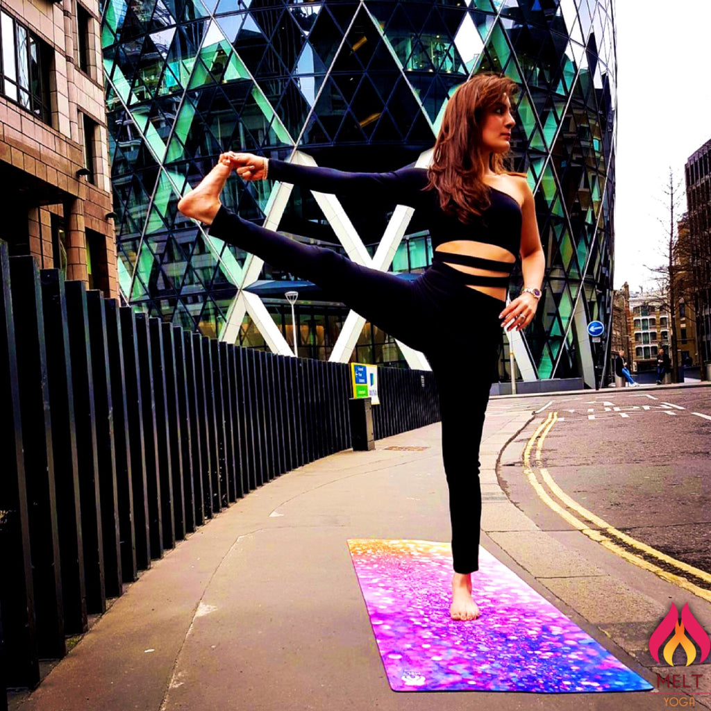 City Lights Yoga Mat