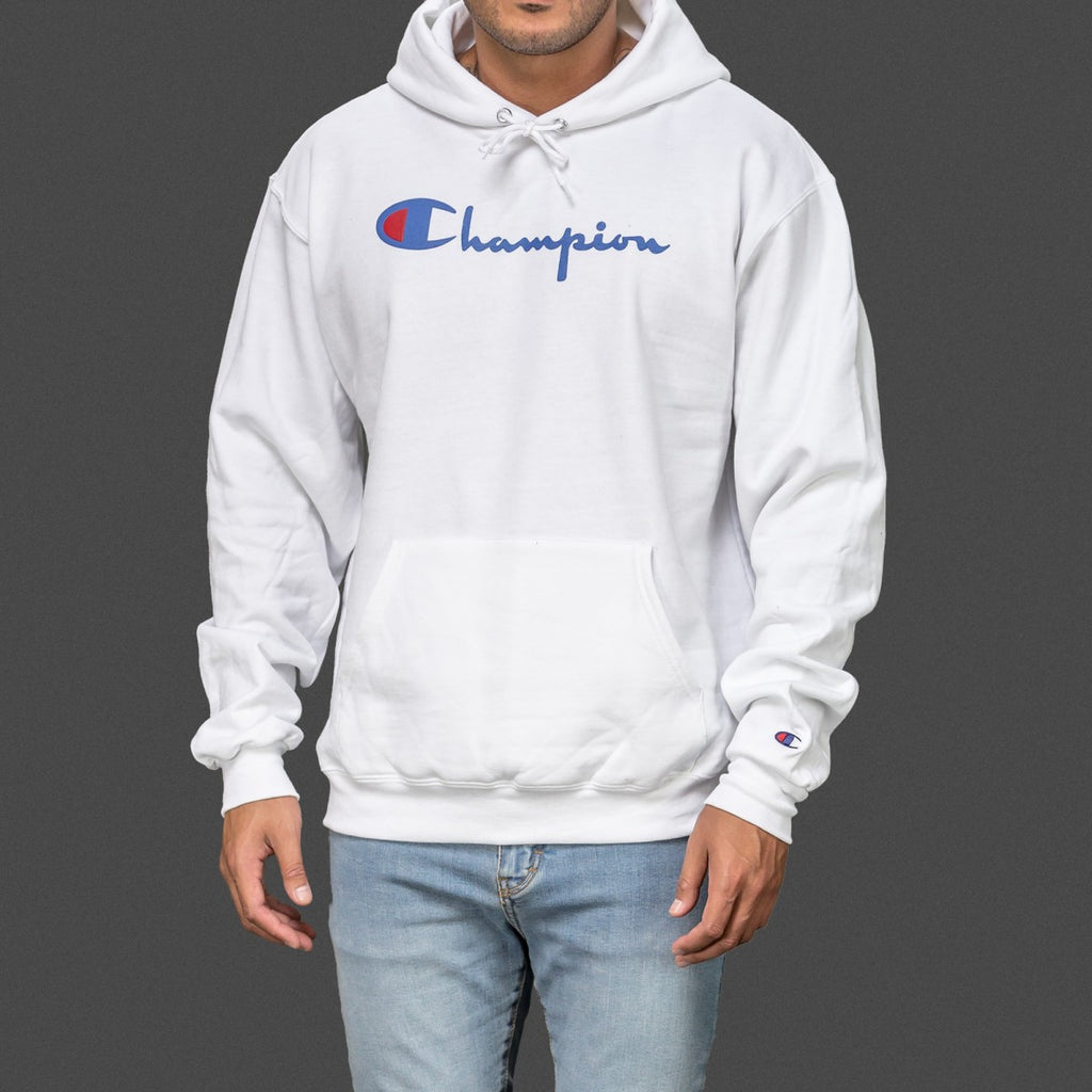 WHITE CHAMPION CLASSIC PULLOVER HOODIE – Feedz Shop f4955b1b4