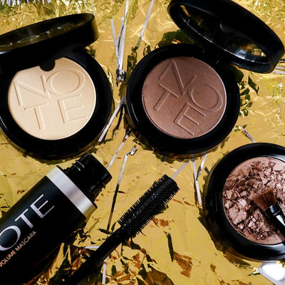 Five Product Face: The Golden Goddess Look