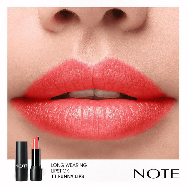 Long Wearing Lipstick - Note Beauty