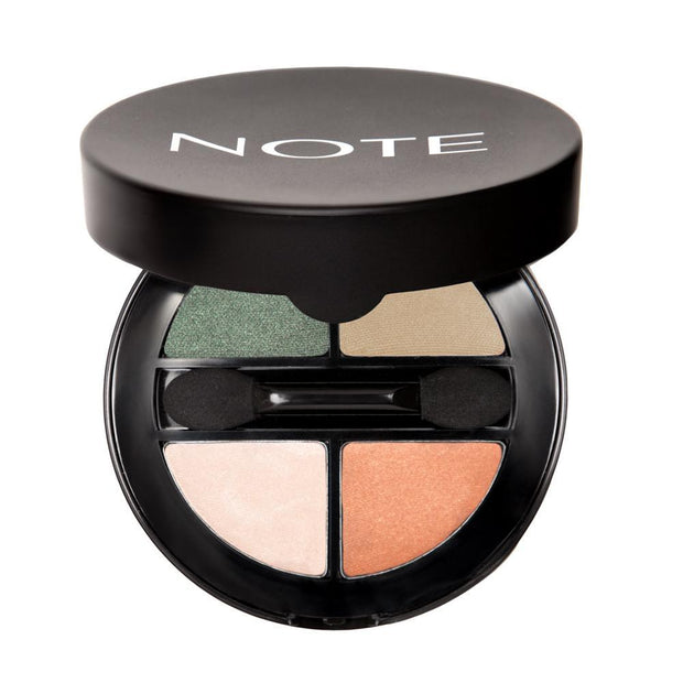 Luminous Quattro Eyeshadow - Note Beauty