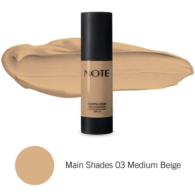 Mattifying Extreme Wear Foundation - Note Beauty