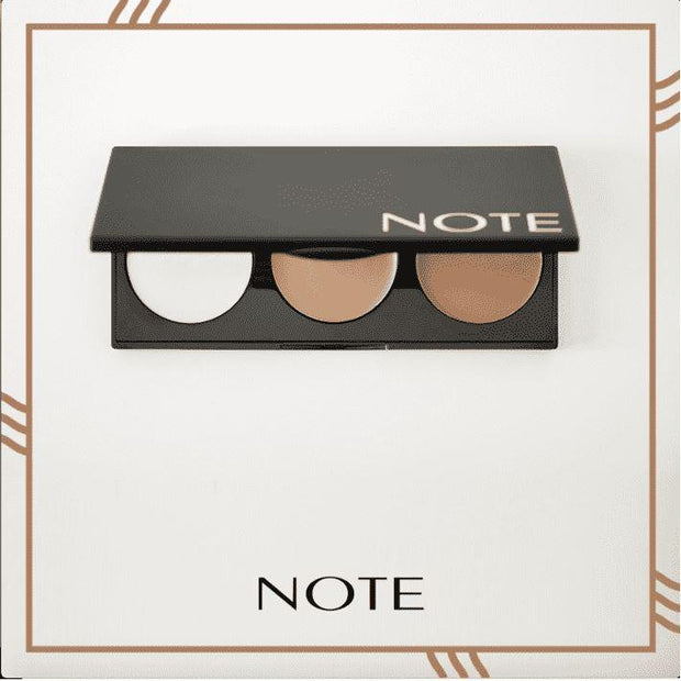 Perfecting Contour Kit Cream Palette - Note Beauty