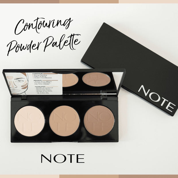 Perfecting Contour Kit Powder Palette - Note Beauty