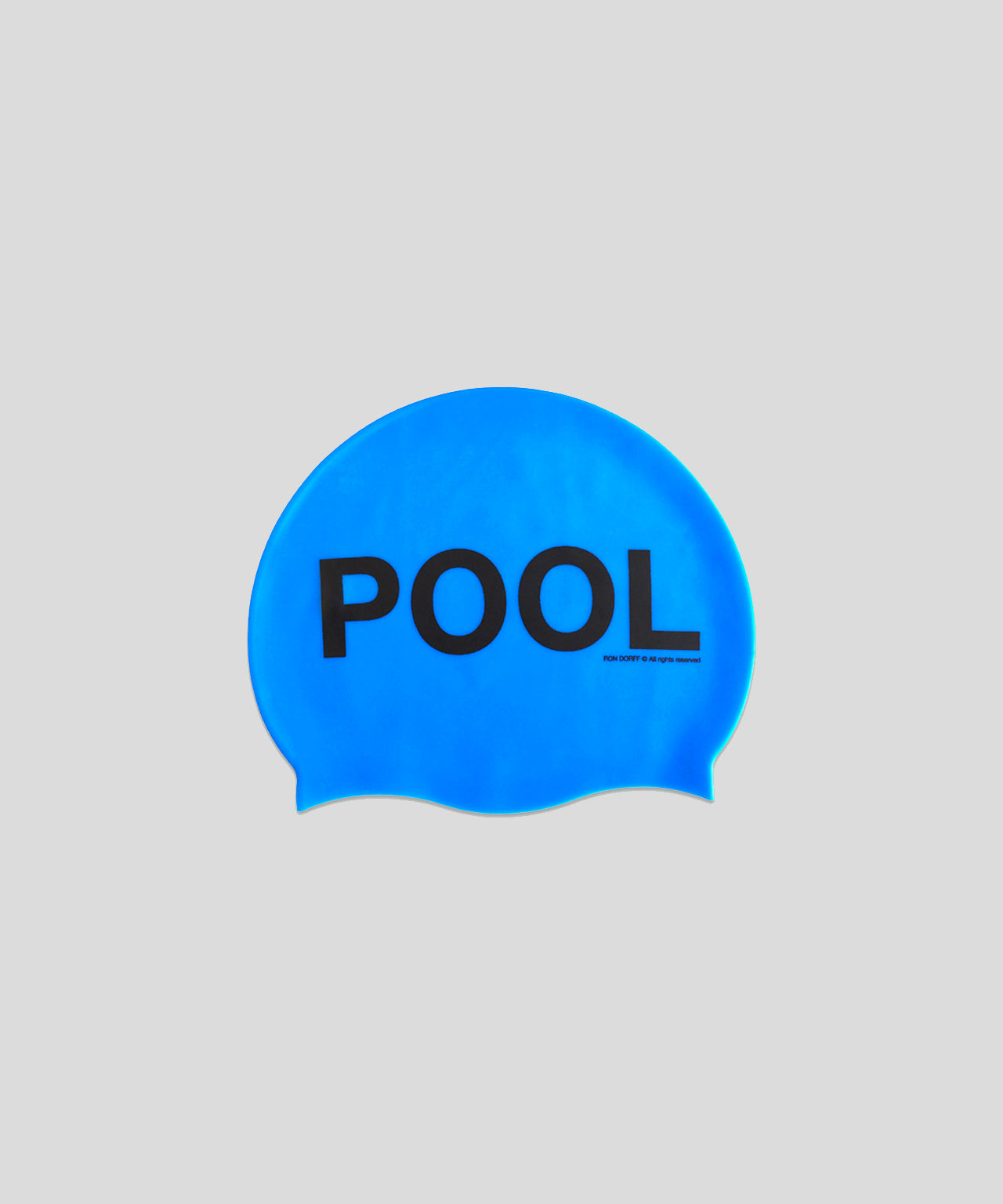 Swim Cap COOL POOL - pool blue