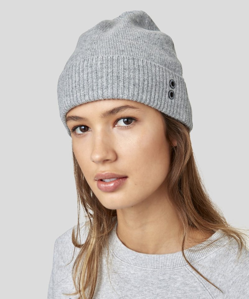 Cashmere Beanie His For Her - grey melange