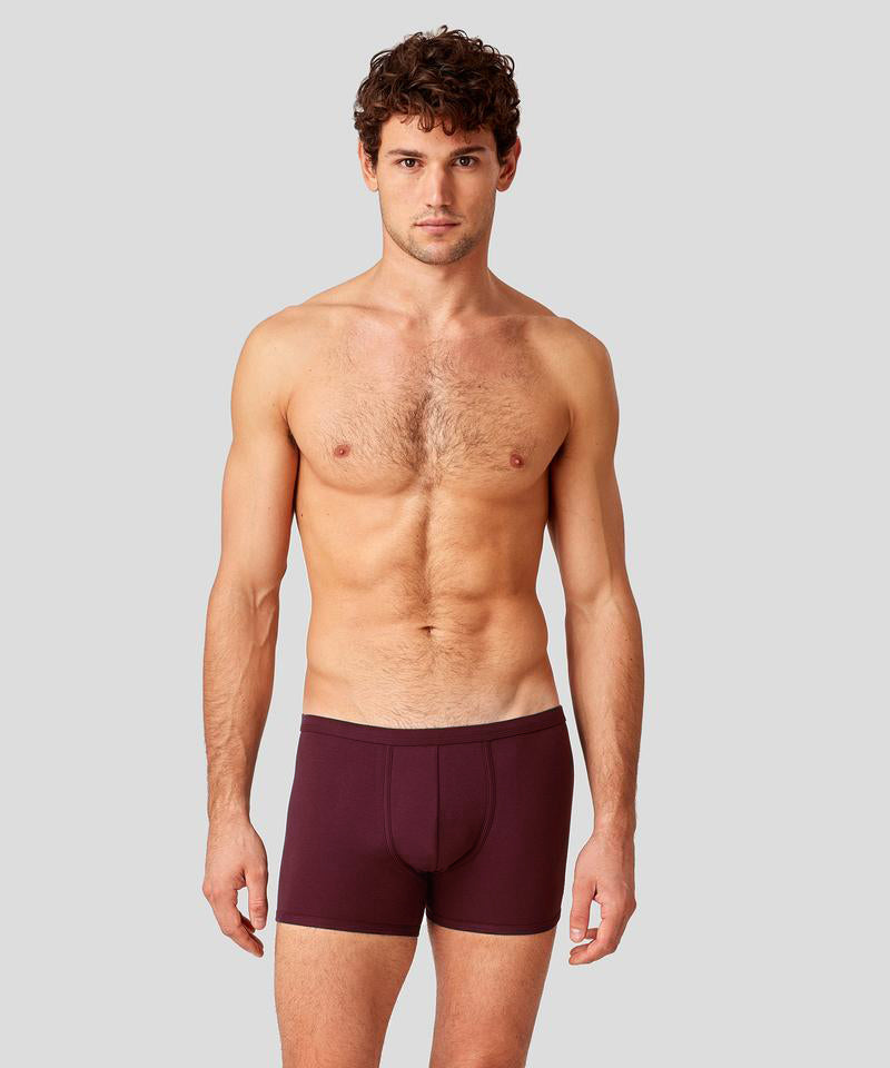 Boxer Briefs - burgundy red