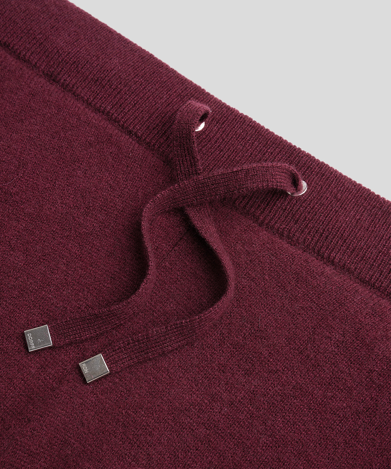 Cashmere Pants His For Her - burgundy red