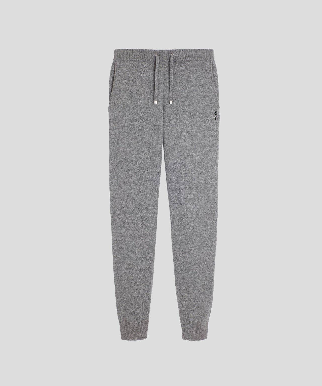 Cashmere Pants - grey melange