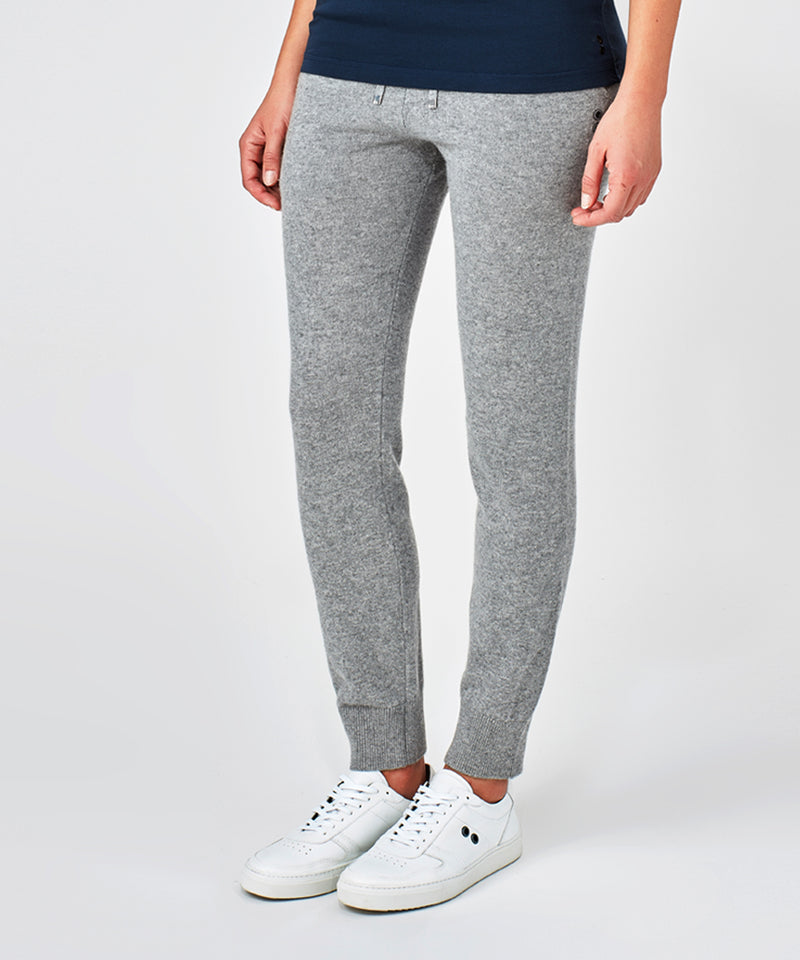 Cashmere Pants His For Her - grey melange