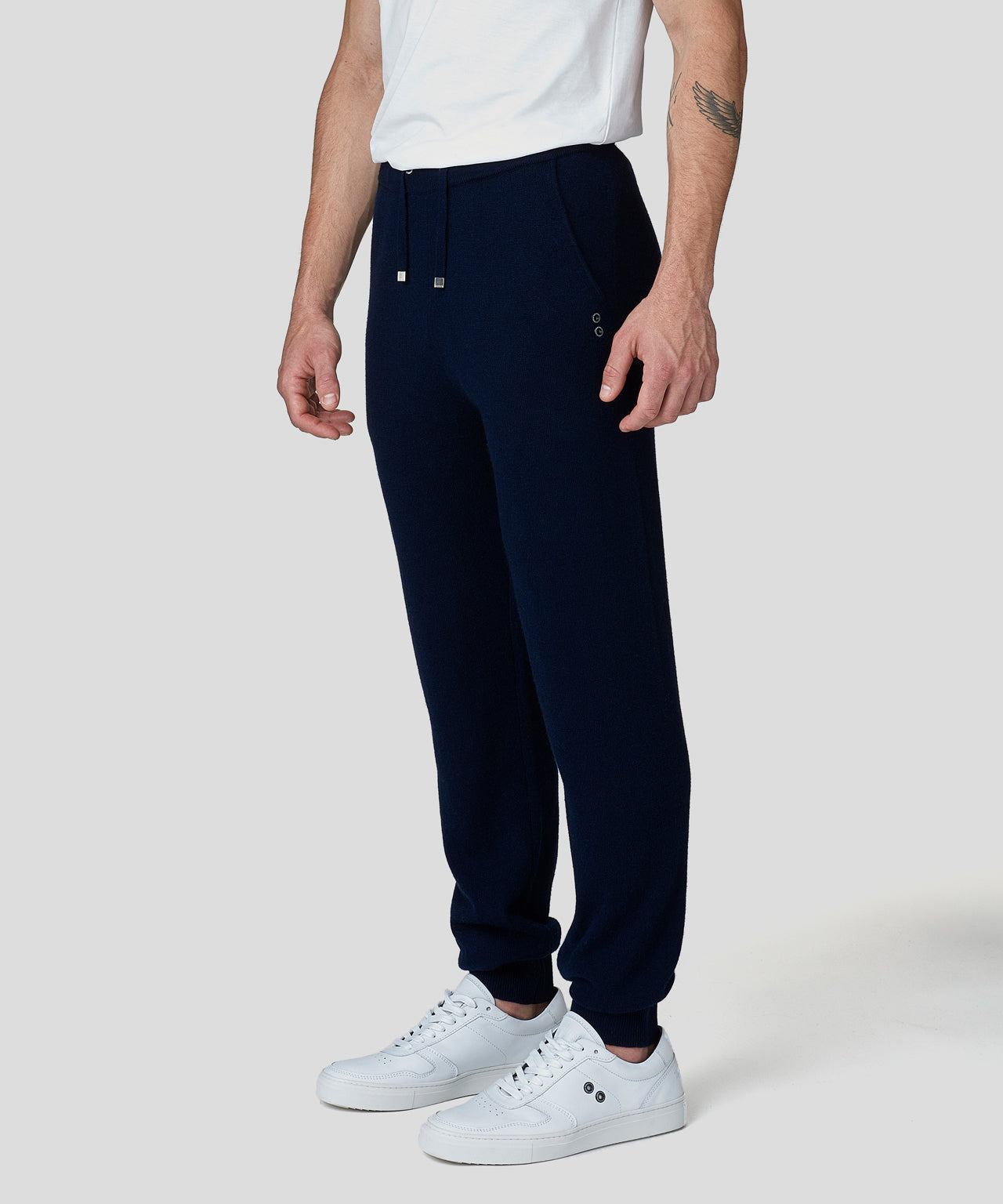 Cashmere Pants - navy
